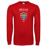 Red Long Sleeve T Shirt-Bryan Fishing Champions