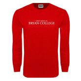 Red Long Sleeve T Shirt-Christ Above All
