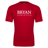 Syntrel Performance Red Tee-Bryan Athletics Stacked