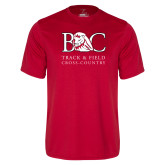 Performance Red Tee-Track and Field - Cross Country
