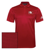Adidas Climalite Red Game Time Polo-Primary Mark