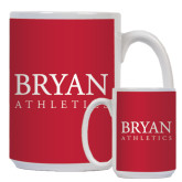 Full Color White Mug 15oz-Bryan Athletics Stacked