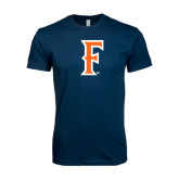 Next Level SoftStyle Navy T Shirt-F