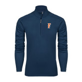 Syntrel Navy Interlock 1/4 Zip-F