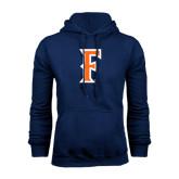 Navy Fleece Hood-F