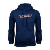 Navy Fleece Hoodie-Cal State Fullerton