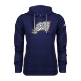 Adidas Climawarm Navy Team Issue Hoodie-Alternate Head