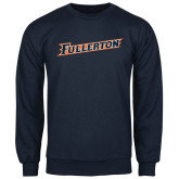 Navy Fleece Crew-Fullerton