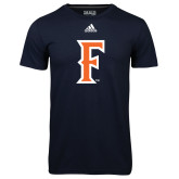 Adidas Climalite Navy Ultimate Performance Tee-F