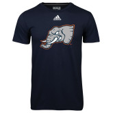 Adidas Climalite Navy Ultimate Performance Tee-Alternate Head