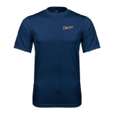 Performance Navy Tee-Primary Logo