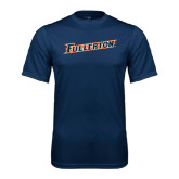 Performance Navy Tee-Fullerton