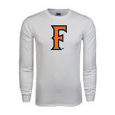White Long Sleeve T Shirt-F