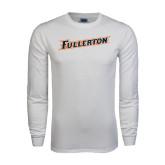 White Long Sleeve T Shirt-Fullerton