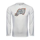 Performance White Longsleeve Shirt-Alternate Head