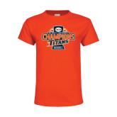 Youth Orange T Shirt-2016 Big West Conference Champions Baseball