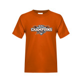 Youth Orange T Shirt-2017 Big West Track & Field Champions