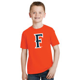 Youth Orange T Shirt-F