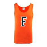 Orange Tank Top-F