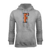 Grey Fleece Hoodie-F