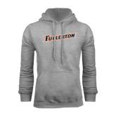 Grey Fleece Hoodie-Fullerton