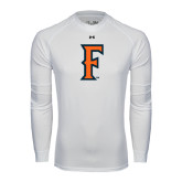 Under Armour White Long Sleeve Tech Tee-F