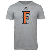 Adidas Sport Grey Logo T Shirt-F