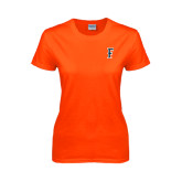 Ladies Orange T Shirt-F