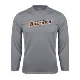 Performance Steel Longsleeve Shirt-Cal State Fullerton
