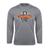 Performance Steel Longsleeve Shirt-2016 Big West Conference Champions Baseball
