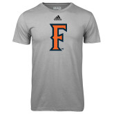 Adidas Climalite Sport Grey Ultimate Performance Tee-F