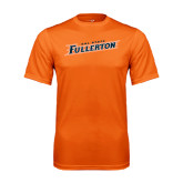 Performance Orange Tee-Cal State Fullerton