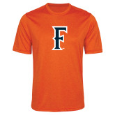 Performance Orange Heather Contender Tee-F