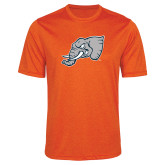 Performance Orange Heather Contender Tee-Alternate Head