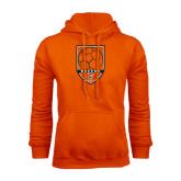 Orange Fleece Hood-Soccer Shield