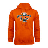 Orange Fleece Hoodie-2016 Big West Conference Champions Baseball