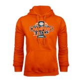 Orange Fleece Hood-2016 Big West Conference Champions Baseball