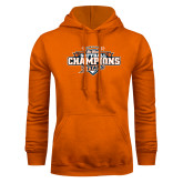 Orange Fleece Hoodie-2017 Big West Back to Back Softball Champions
