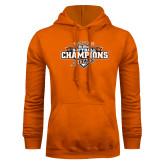 Orange Fleece Hood-2017 Big West Back to Back Softball Champions