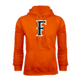 Orange Fleece Hoodie-F
