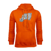 Orange Fleece Hoodie-Alternate Head