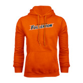 Orange Fleece Hoodie-Cal State Fullerton