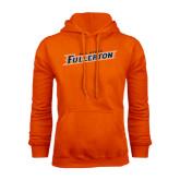 Orange Fleece Hood-Cal State Fullerton