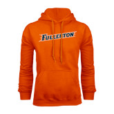 Orange Fleece Hoodie-Fullerton