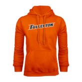 Orange Fleece Hood-Fullerton