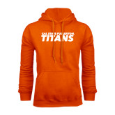 Orange Fleece Hoodie-Cal State Fullerton Titans Stacked
