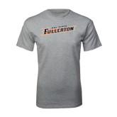 Grey T Shirt-Cal State Fullerton