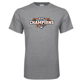 Grey T Shirt-2017 Big West Track & Field Champions