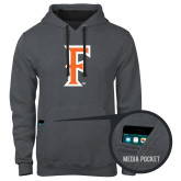Contemporary Sofspun Charcoal Heather Hoodie-F