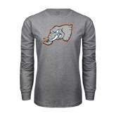 Grey Long Sleeve T Shirt-Alternate Head